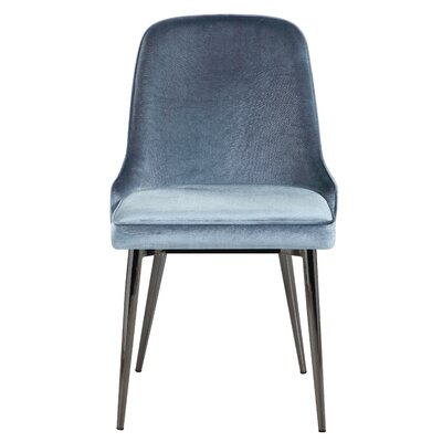 Upholstered Dining Chair Upholstery Color: Slate Blue