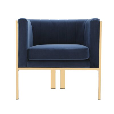 Kulas Armchair Upholstery: Royal Blue