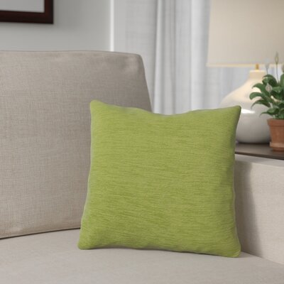 Danin Outdoor Throw Pillow Color: Lime, Size: Small