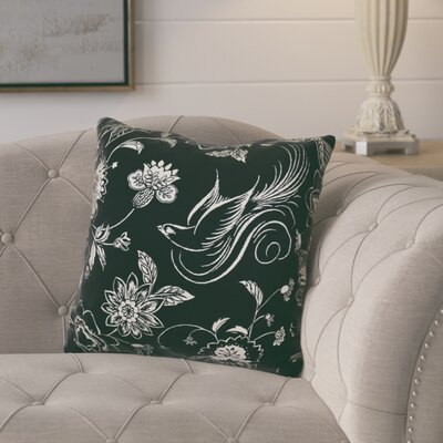 Rolla Decorative Holiday Throw Pillow Size: 18 H x 18 W, Color: Black