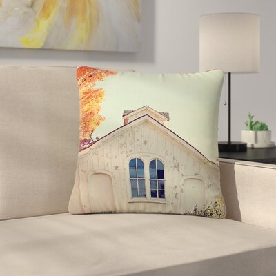 Angie Turner Fall Barn Top Photgraphy Outdoor Throw Pillow Size: 16 H x 16 W x 5 D