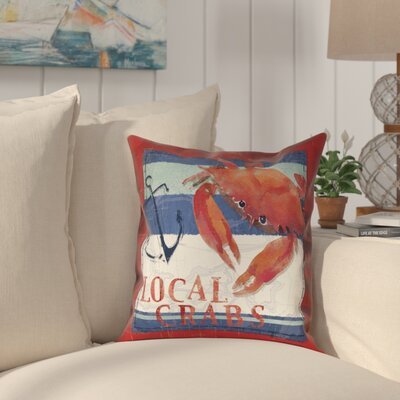 Asleigh Outdoor Throw Pillow Size: 20 x 20