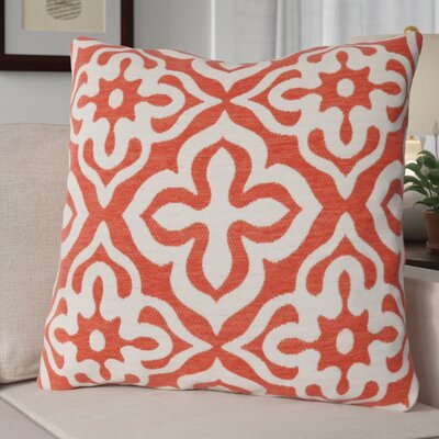 Silpa Throw Pillow Color: Orange
