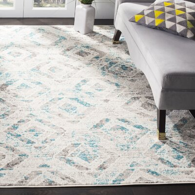 Cohan Ivory Area Rug Rug Size: Rectangle 5'1