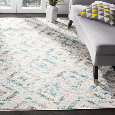 Cohan Ivory Area Rug Rug Size: Rectangle 9' x 12'
