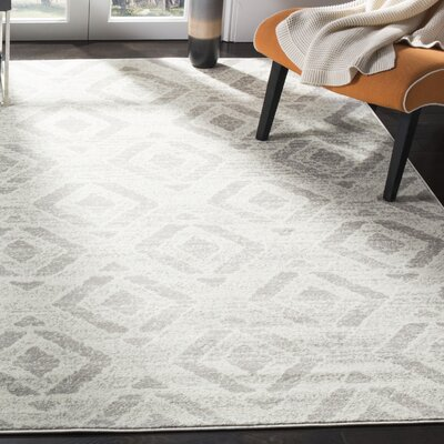 Cohan Ivory Area Rug Rug Size: Rectangle 9 X 12
