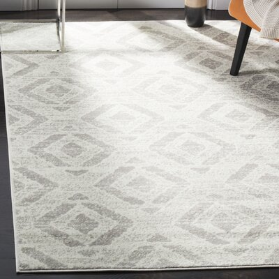 Cohan Ivory Area Rug Rug Size: Rectangle 51 X 76