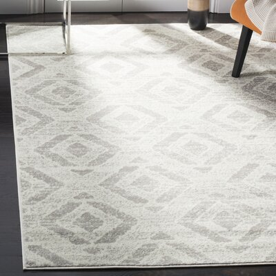 Cohan Ivory Area Rug Rug Size: Rectangle 8 X 10