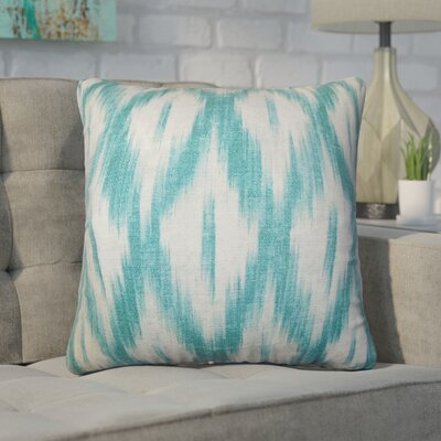 Desdemona Ikat Cotton Throw Pillow