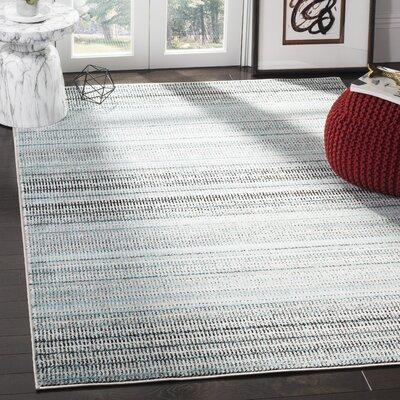 Cohn Blue/Gray Area Rug Rug Size: Rectangle 9 X 12