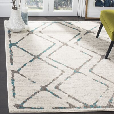 Cohrs Ivory Area Rug Rug Size: Rectangle 51 X 76