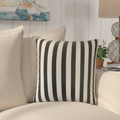 Knowles Stripes Cotton Throw Pillow