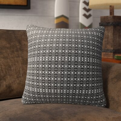 Liberty Hill Indoor/Outdoor Throw Pillow Color: White/Black, Size: 16 H x 16 W