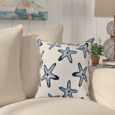 Cedarville Soft Starfish Geometric Print Throw Pillow Size: 20 H x 20 W, Color: Teal