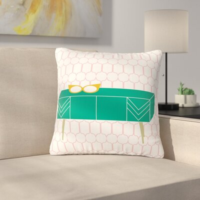 Bridgette Burton Credenza Madness Outdoor Throw Pillow Size: 16 H x 16 W x 5 D