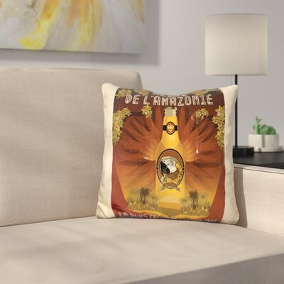 Reine De LAmazonie Throw Pillow