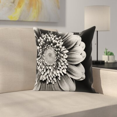 Maja Hrnjak Gerbera Throw Pillow Size: 16 x 16