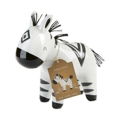 Erbe Ceramic Zebra Piggy Bank 620F9E1A2AA744ABB17FA0DDCDA5968C