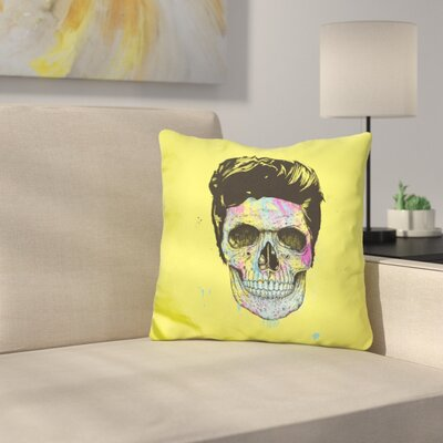 Color Your Death Throw Pillow