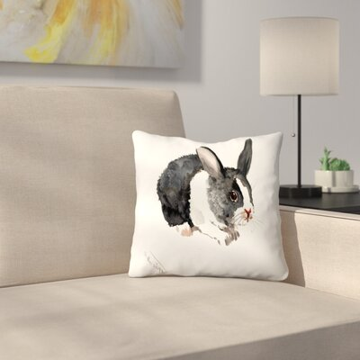Bunny 1 Throw Pillow Size: 18 x 18