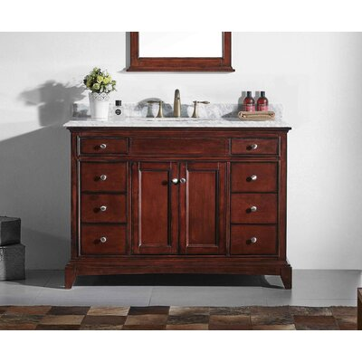 Strickland 48 Single Bathroom Vanity Set