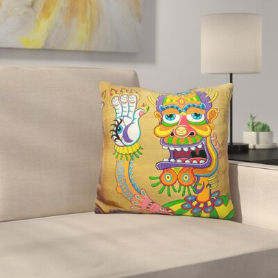 The Clown Is A Wiseman in Disguise Throw Pillow