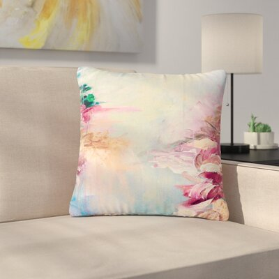 Ebi Emporium Winter Dreamland Outdoor Throw Pillow Size: 18 H x 18 W x 5 D, Color: Blue