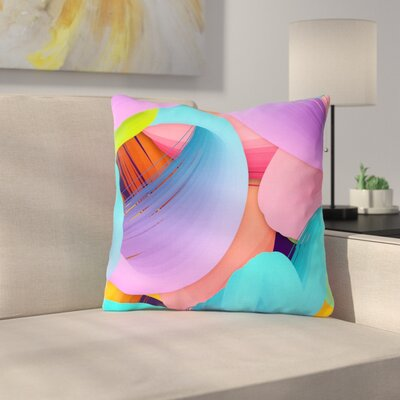 Funny by Danny Ivan Throw Pillow Size: 16 H x 16 W x 3 D