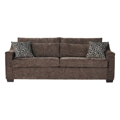 Pershing Sofa Upholstery: Espresso