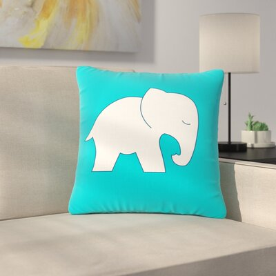 NL Designs Cute BL Outdoor Throw Pillow Size: 16 H x 16 W x 5 D