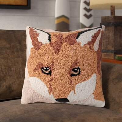 Henryetta In the Woods Fox Throw Pillow