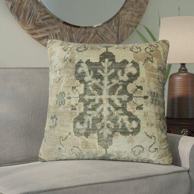 Gregor Linen Throw Pillow Size: 22 x 22