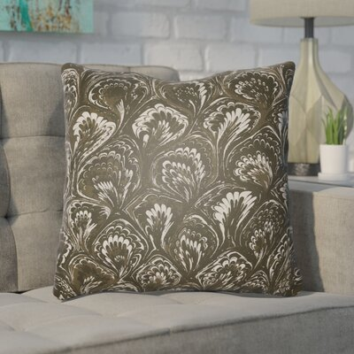 Maidstone Throw Pillow Size: 18 H x 18 W x 4 D, Color: Brown
