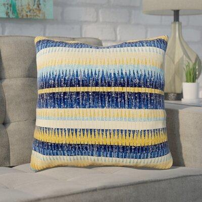 Havel Throw Pillow Color: Cobalt