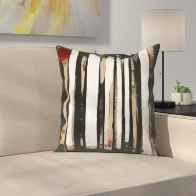 Kasi Minami Untitled 18 Throw Pillow Size: 14 x 14