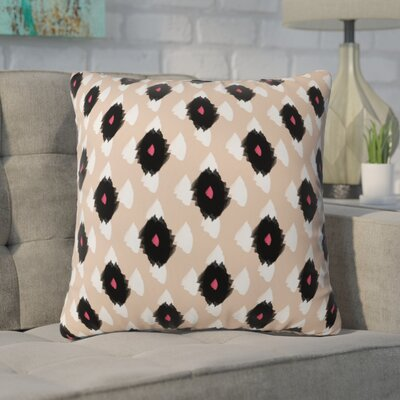 Mouton Ikat Class Outdoor Throw Pillow Size: 16 H x 16 W x 4 D