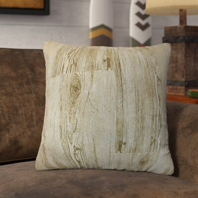 Vanderhorn Graphic Cotton Throw Pillow Color: Toffee