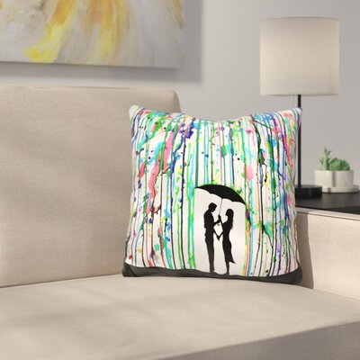 Pour Deux Throw Pillow