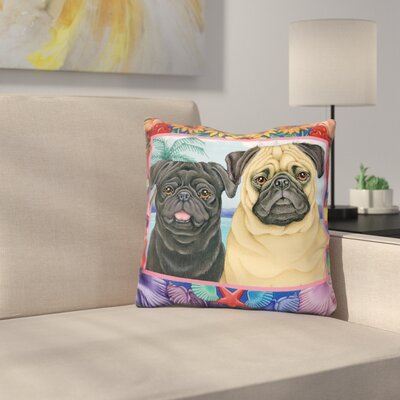 Border Throw Pillow