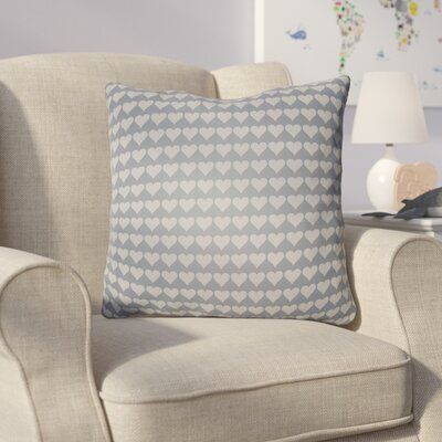 Colinda Square Throw Pillow Size: 18 H x 18 W x 4 D, Color: Grey