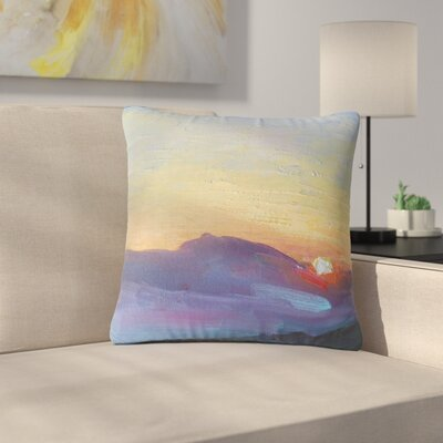 Carol Schiff Mountain Sunset Nature Outdoor Throw Pillow Size: 16 H x 16 W x 5 D