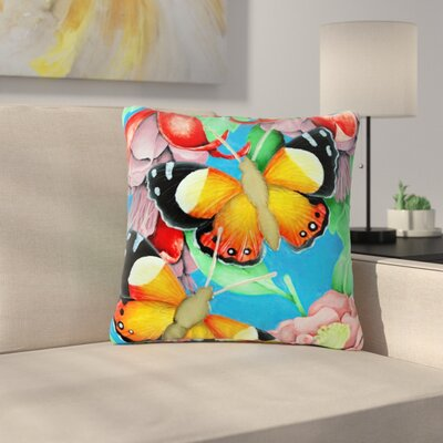 Vinny Thompson Admiral Tropical Outdoor Throw Pillow Size: 16 H x 16 W x 5 D