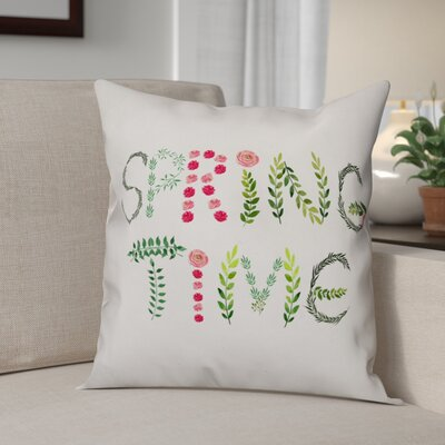 Bewley Spring Time Throw Pillow
