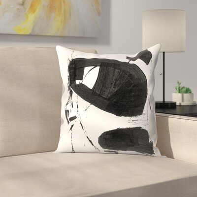 Olimpia Piccoli Without Words Iii Throw Pillow Size: 18 x 18