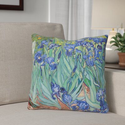 Gilbreath Irises Throw Pillow