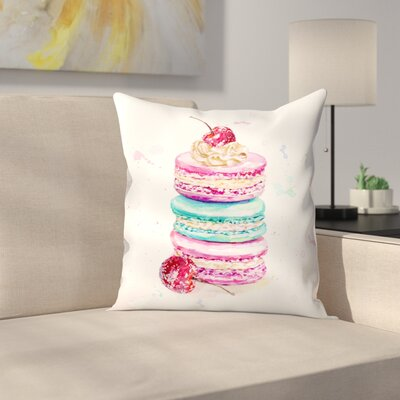 Macaroons Throw Pillow Size: 20 x 20