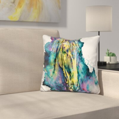 Horse Chained Beauty Throw Pillow