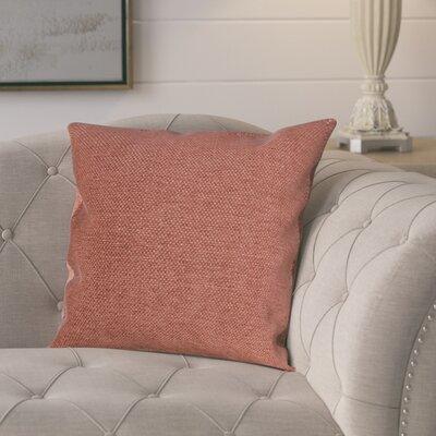 Kalish Pillow Cover Color: Orange