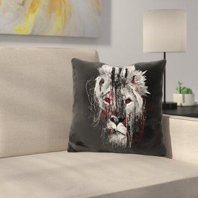 Lion Eye Throw Pillow