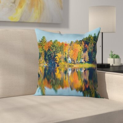 Lake House Pillow Cover Size: 16 x 16